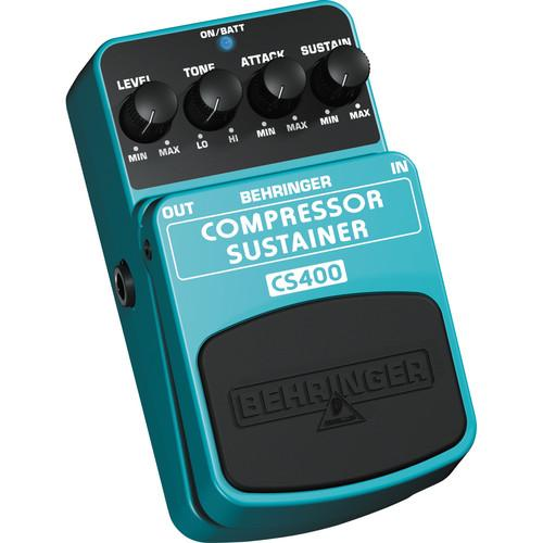 Behringer CS400 Compressor Sustain Guitar Pedal CS400
