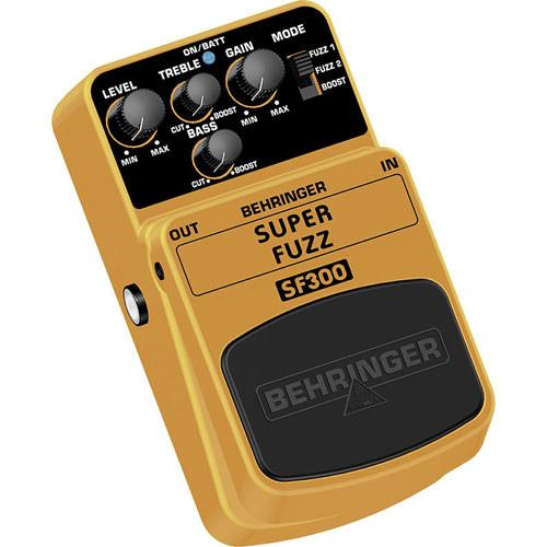Behringer SF300 Super Fuzz Distortion Pedal SF300