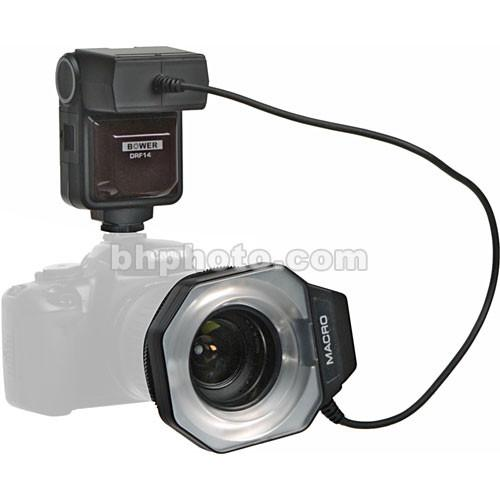 Bower SFD14N Macro Ringlight Flash for Nikon i-TTL SFD14N