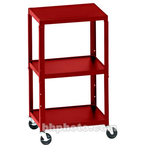 Bretford Adjustable AV Cart with 3 Shelves and A2642E-CD