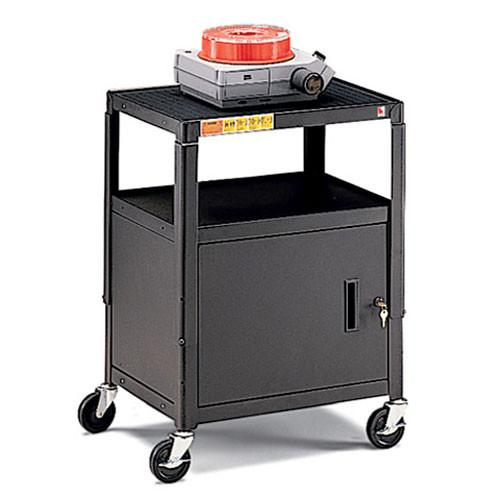 Bretford Adjustable Cabinet Cart with 5