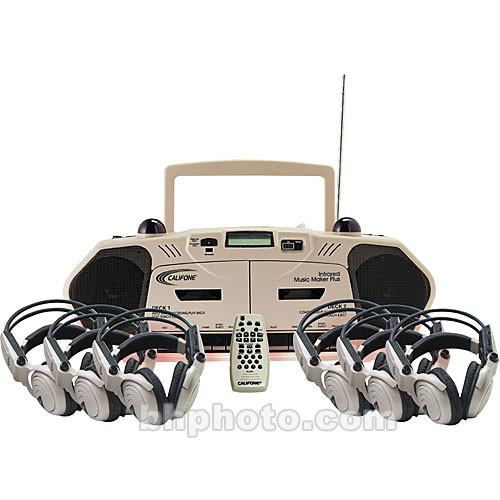 Califone 2395IRPLC-6 6-Person Wireless Cassette 2395IRPLC-6