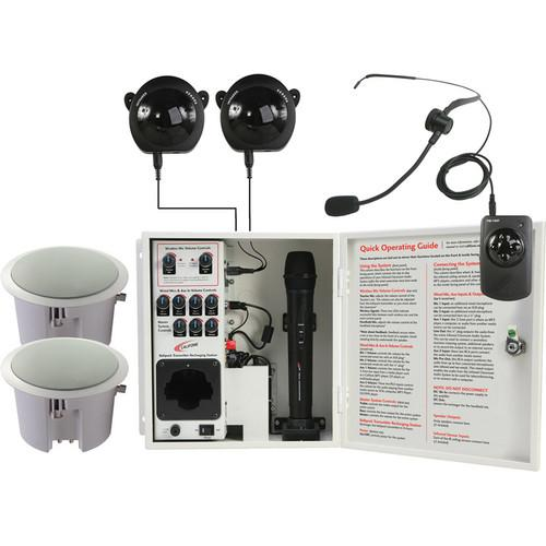 Califone PA-IRSYSCS Classroom Infrared Audio System PA-IRSYSCS