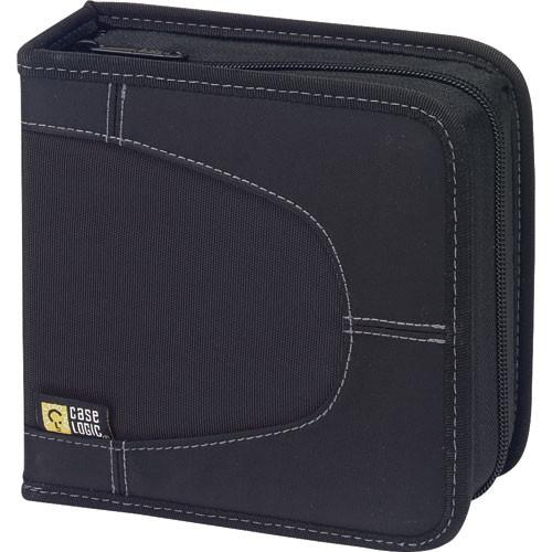 Case Logic CDW-32 32 Capacity CD Wallet (Black) CDW-32