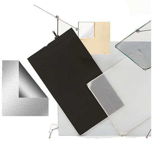 Chimera Panel Fabric ONLY for Aluminum Frame, Silver/Black 5146