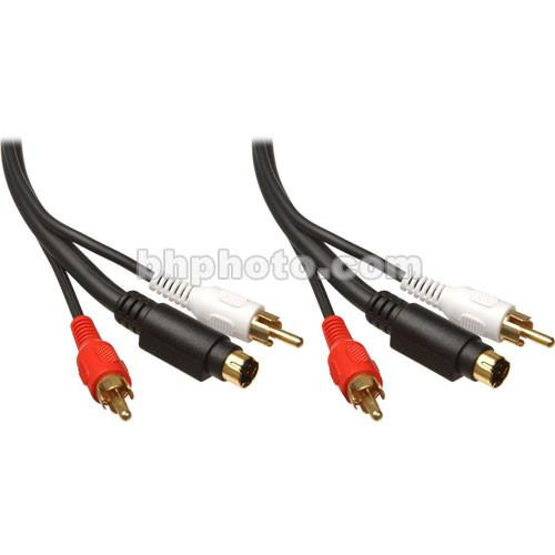 Comprehensive 1 S-Video Male and 2 RCA Male to 1 G2PP-S4P-10ST