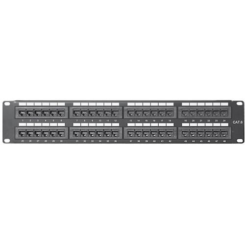 Comprehensive PP48P6 48-Port CAT-6 Patch Panel PP48P6