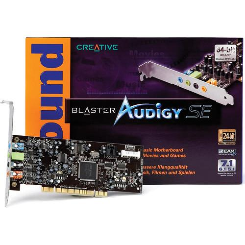Creative Labs Soundblaster Audigy SE 4L PCI Sound 70SB057000001