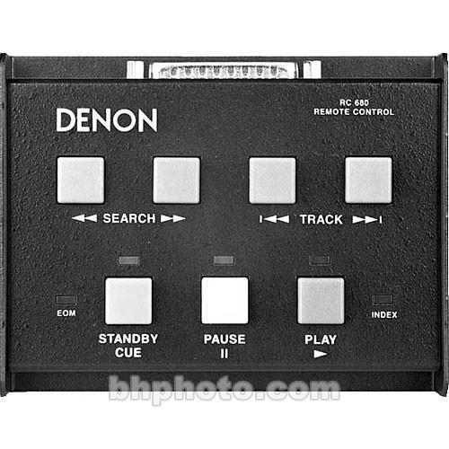 Denon  RC680 Wired Remote for CD/MD RC680