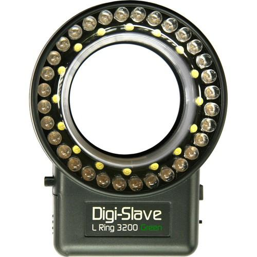 Digi-Slave L-Ring 3200 LED Ring Light (Green) LRU3200G
