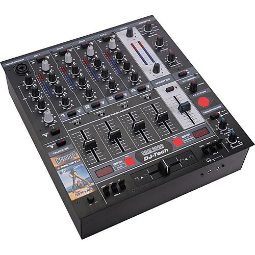DJ-Tech DDM-3000 Professional 5-Channel DJ Mixer DDM-3000