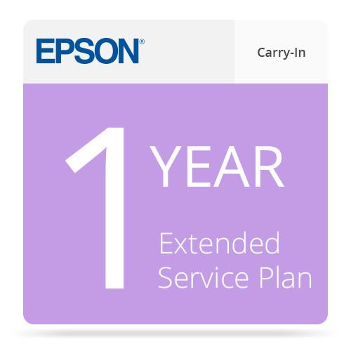 Epson 1-Year Extended Carry-In Service Plan EPPSNSCANWR1