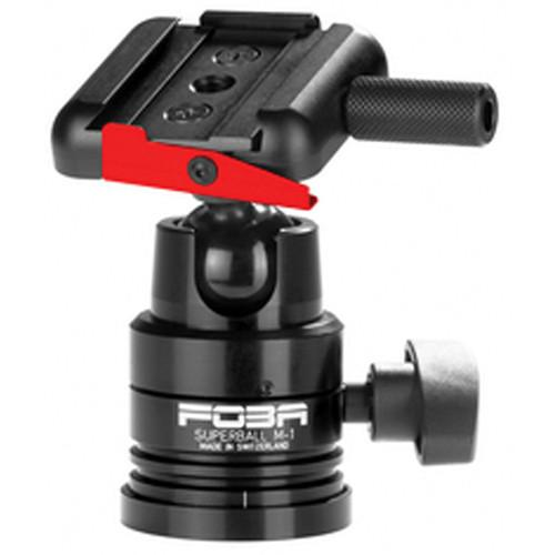 Foba Superball M-1 Ballhead with Quick Release F-BENTO