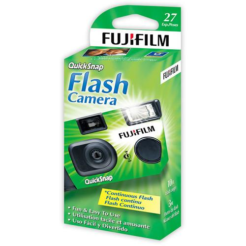 Fujifilm QuickSnap Flash 400 35mm One-Time-Use Camera 600003887