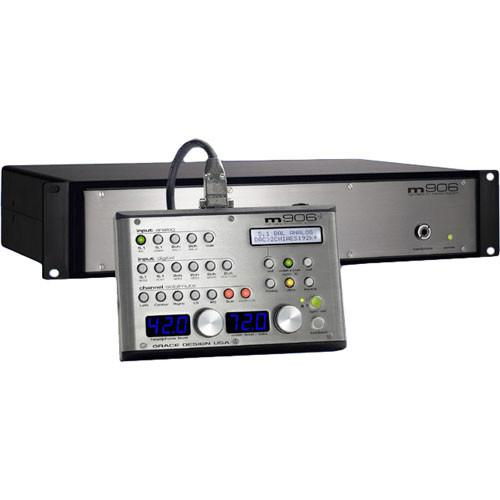 Grace Design m906 - High-Fidelity 5.1 Monitor Controller A906