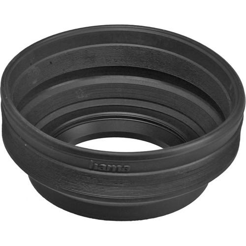 Hama 58mm Screw-In Rubber Zoom Lens Hood for 24mm to HA-929.58