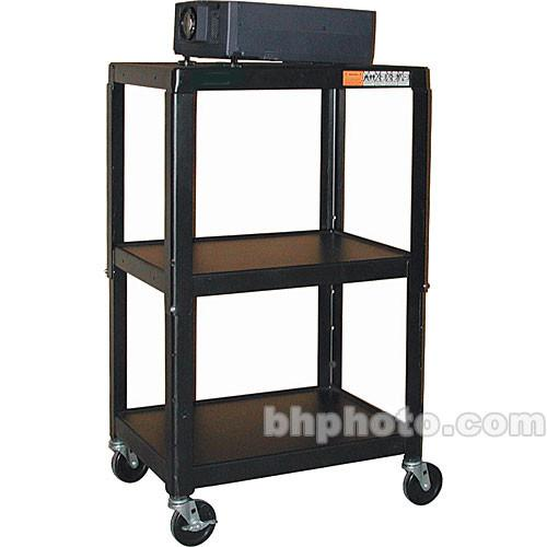 HamiltonBuhl A/V Cart, Adjustable Height 26 to 42
