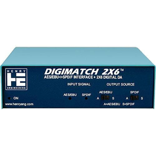 Henry Engineering DigiMatch 2x6 - AES/EBU/S/PDIF Interface DM
