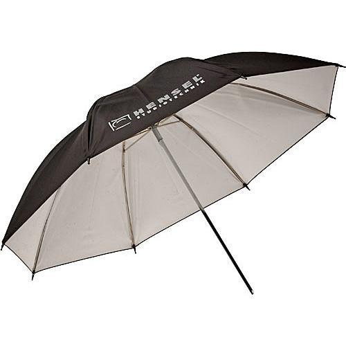 Hensel Economy Umbrella - White with Black Backing - 3180