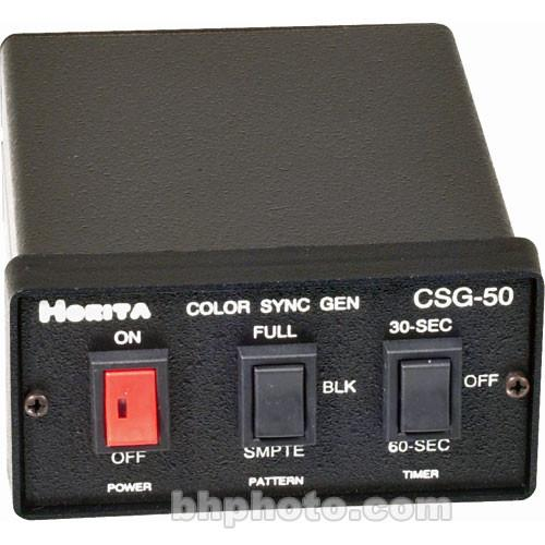 Horita CSG-50 Color Bar / Black Burst / Sync / Audio CSG50