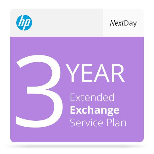HP 3-Year Next-Day-Exchange Extended Service Plan UG609A