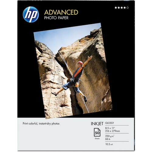 HP Advanced Inkjet Photo Paper Glossy (L) 8.5x11
