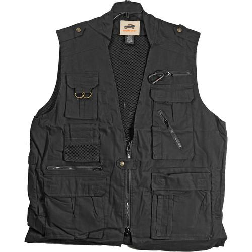 Humvee by CampCo  Safari Photo Vest HMV-VS-BK-XXL