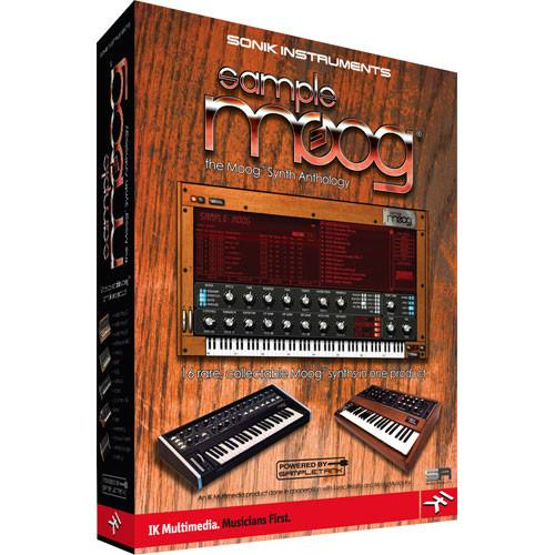 IK Multimedia SampleMoog - Virtual Moog SM-PLUG-HCD-IN