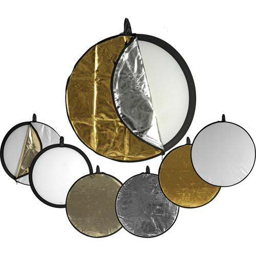 Impact 5-in-1 Collapsible Circular Reflector Disc - 22