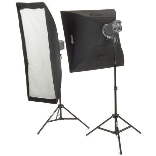 Interfit Stellar X Solarlite Two-Softbox (Mixed) Kit INT198U