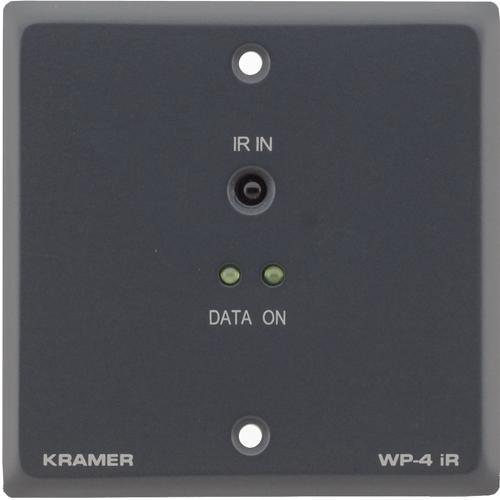 Kramer WP-4iR Active Wall Plate (Gray) WP-4IR-GRAY