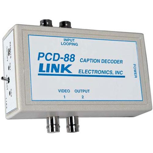 Link Electronics PCD-88X6 Portable Closed Caption PCD-88X6