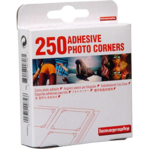 Lomography Adhesive Photo Corners (250 Pack) Z400PC