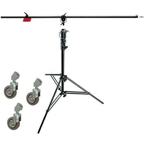 Manfrotto 085BS Heavy Duty Boom and Stand (Black) 085BS