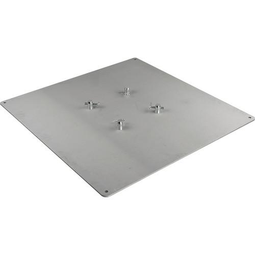 Marathon 3x3' Aluminum Base Plate for Square Truss MA-BP3636