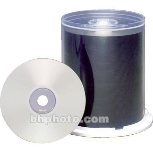 Maxell CD-R 700MB Silver Inkjet Disc (100) 648710