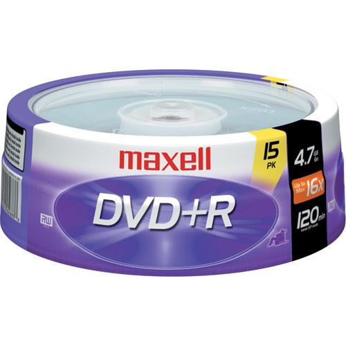 Maxell  DVD R 4.7GB, 16x Disc (15) 639008