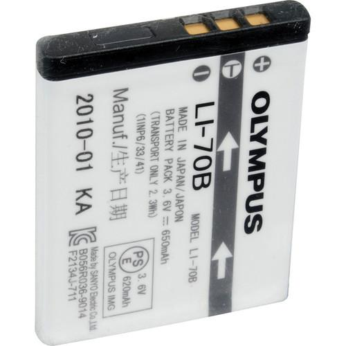 Olympus LI-70B Rechargeable Lithium-Ion Battery (650mAh) 202415