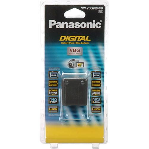 Panasonic VW-VBG260 Replacement Lithium-Ion Battery VW-VBG260