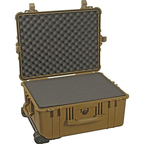 Pelican  1610 Case with Foam (Desert Tan)