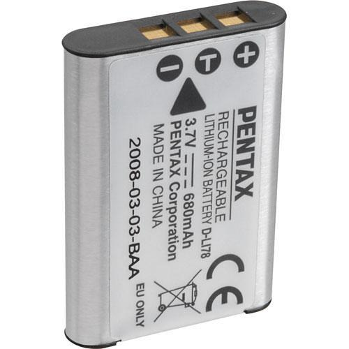 Pentax D-LI78 Rechargeable Lithium-Ion Battery 39741