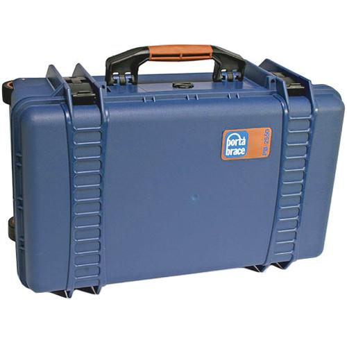 Porta Brace PB-2550E Hard Case, Empty Shell (Blue) PB-2550E