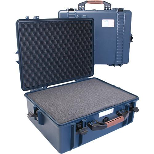 Porta Brace PB-2600F Hard Case with Foam Interior (Blue)