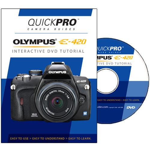 user manual quickpro dvd olympus e 420 digital slr camera 1215 rh pdf manuals com olympus e 420 manual focus olympus evolt e-420 manual