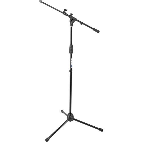 QuikLok A-346 Tripod-Style Mic Stand with Telescopic A-346BKAM