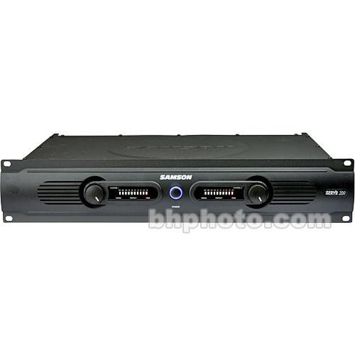 Samson  SERVO 200 - Power Amplifier SA200