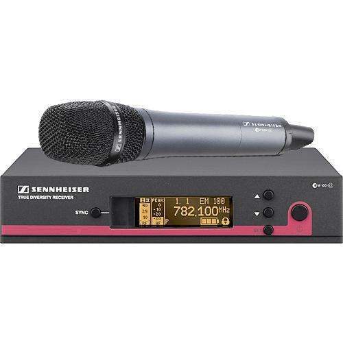 user manual sennheiser ew 135 g3 wireless handheld microphone rh pdf manuals com sennheiser ew100 g2 wireless microphone manual sennheiser wireless mic ew 100 g3 manual