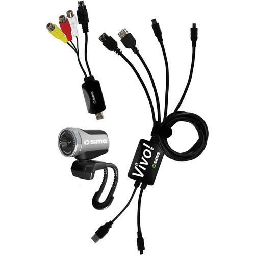 Sima Vivo Video Streaming Kit for Camcorders VHDKT