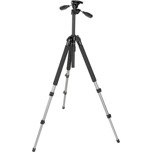 Slik Pro-330DX Tripod with 3-Way Pan Head Titanium 613-330