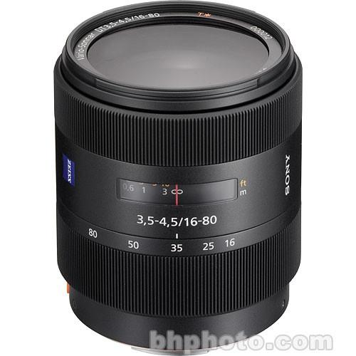 Sony 16-80mm f/3.5-4.5 Carl Zeiss Vario-Sonnar T* DT SAL1680Z